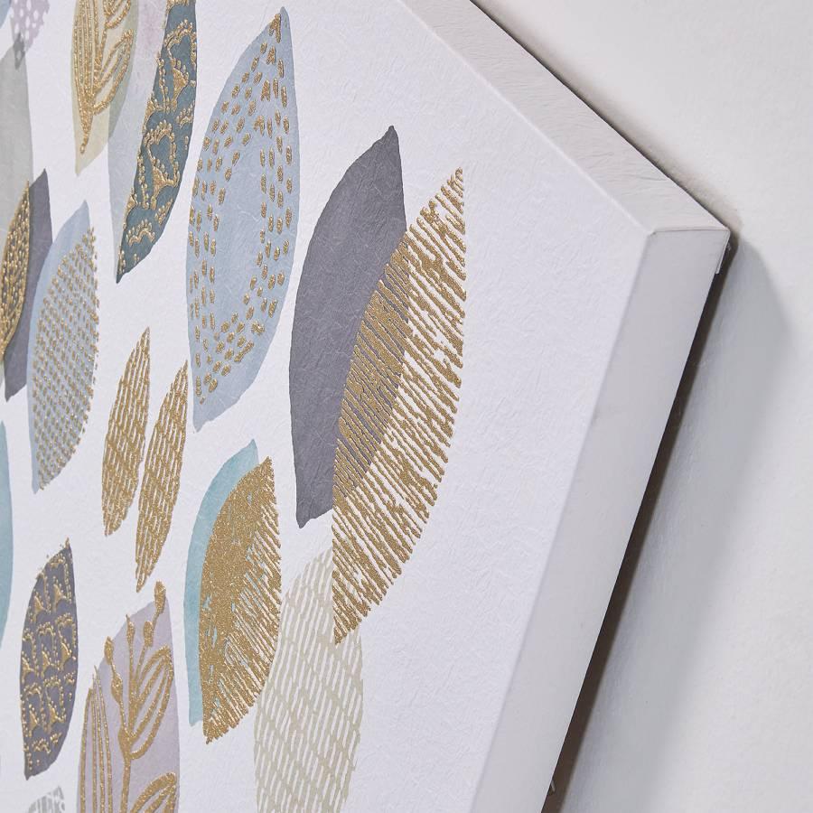 PapierKiefer MassivWeiß Gold Oval Bild Silva DEIH29