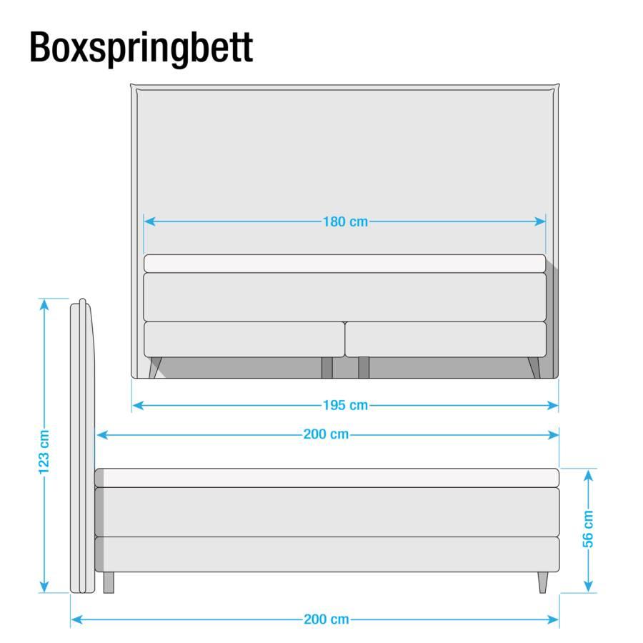 Ii X Boxspring Avellino Lit 200cm Limon180 mN8wnv0O
