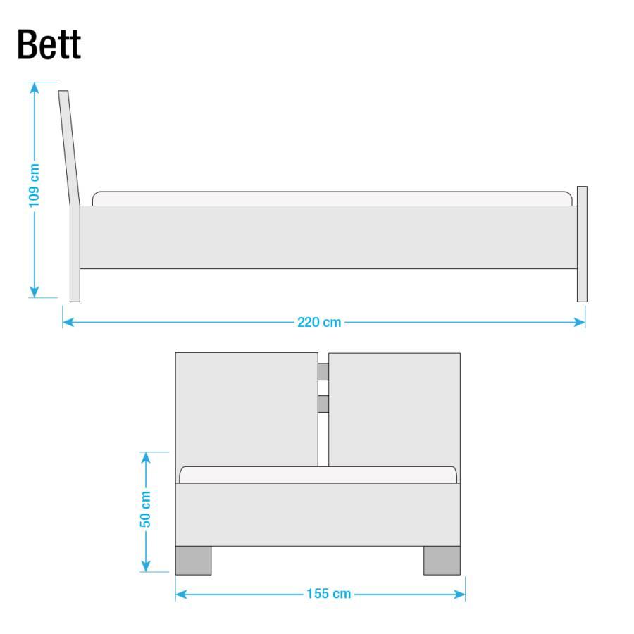 Boxspringbett Cavan Bonellfederkernmatratze X 140 Kunstleder Taupe 200cmH2 31KcTlFJ