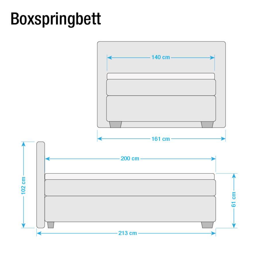 200cm Soft Box D2 Souple Lit Boxspring Cappuccino140 X SzMjqVpUGL