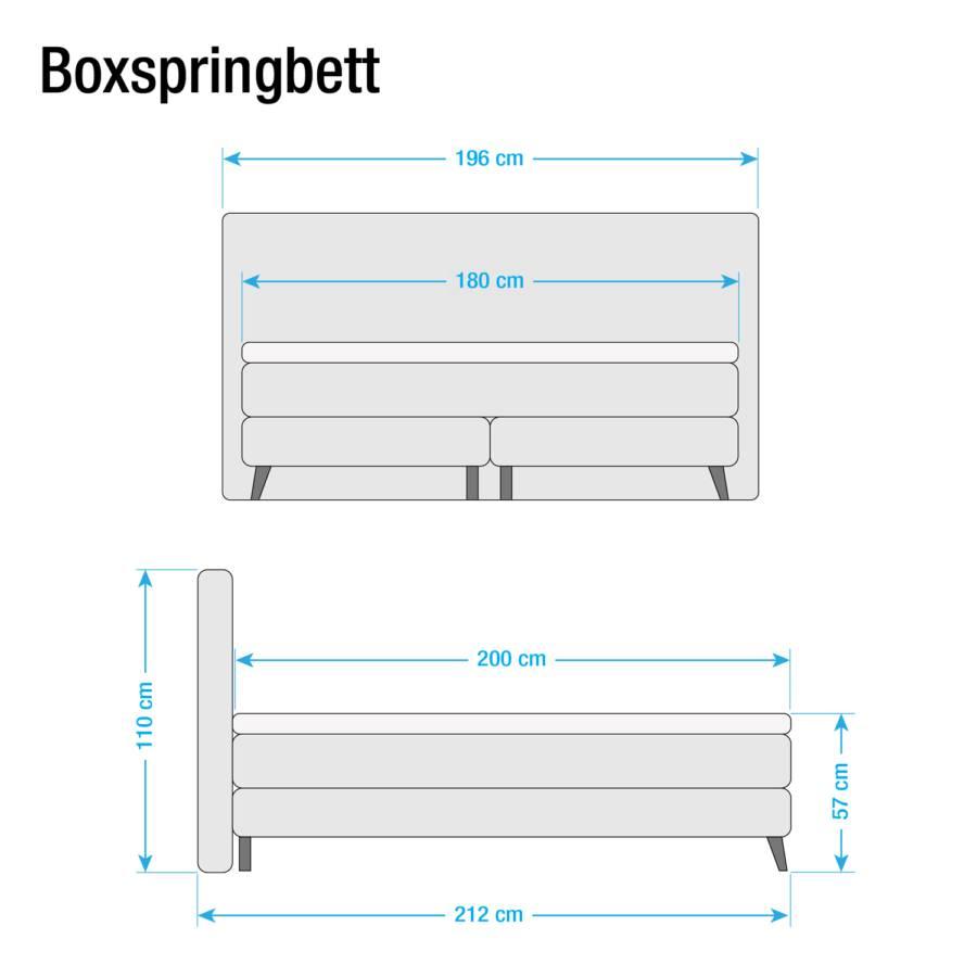 Boxspringbett X Khaki180 Boxspringbett 200cm Mälby Mälby bfg76y