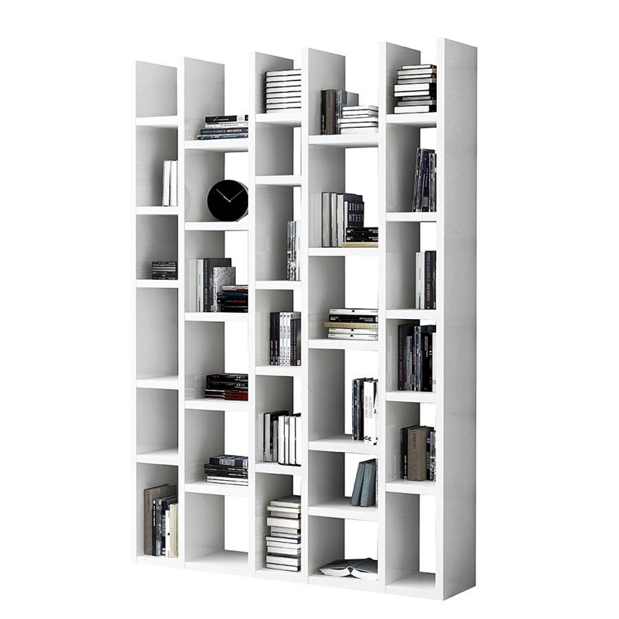 Weisses Bücherregal jetzt bei home24 bücherregal loftscape home24