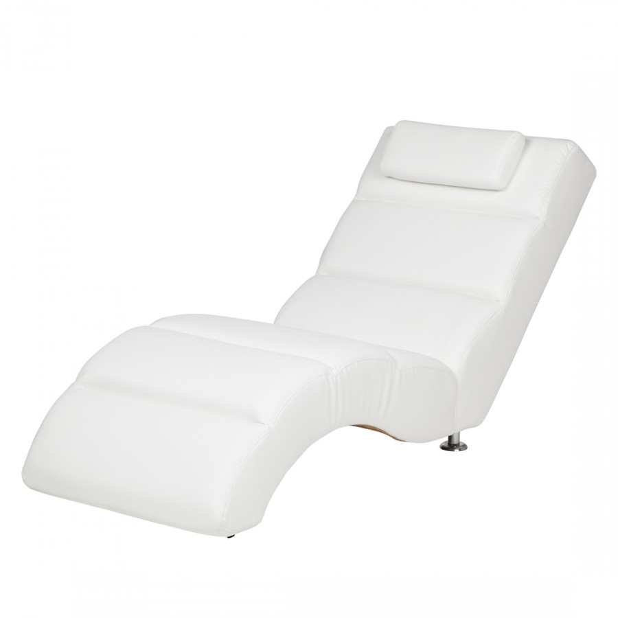 Chaise Longue De Relaxation Califfo Cuir Synthetique Home24 Fr