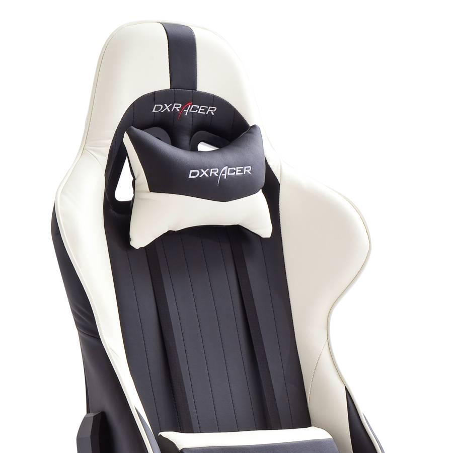 Dx Weiß Chair KunstlederKunststoffSchwarz 6 Racer Gaming 0nXO8kwP