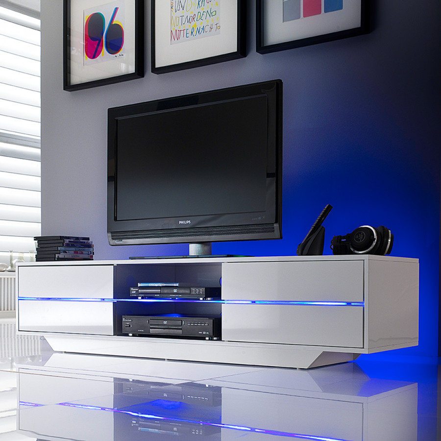 Mit Rgb Beleuchtung lowboard led Claire Tv kPZuOiTwX