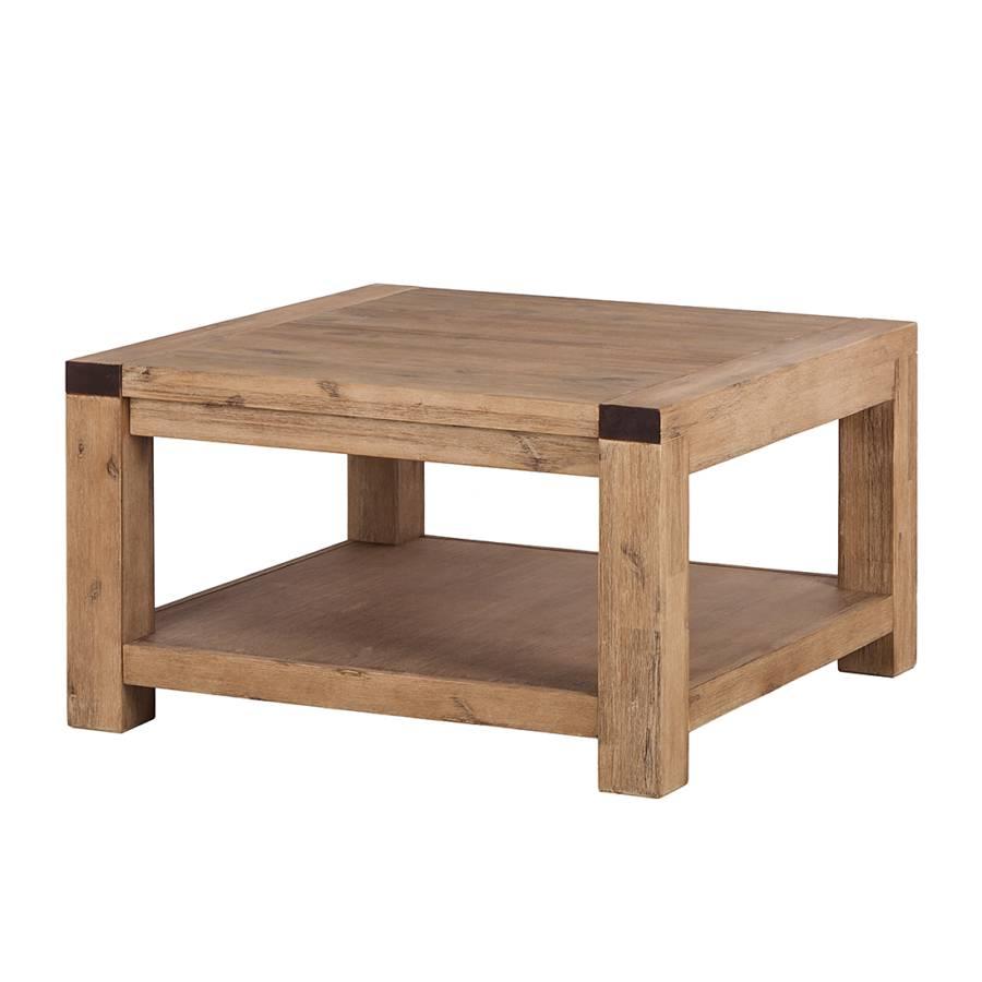 Tavolino da salotto Alenja - Legno massello di acacia | home24