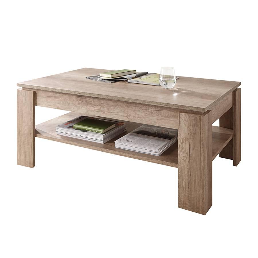 Table Basse Elliot Imitation Chene Home24 Be
