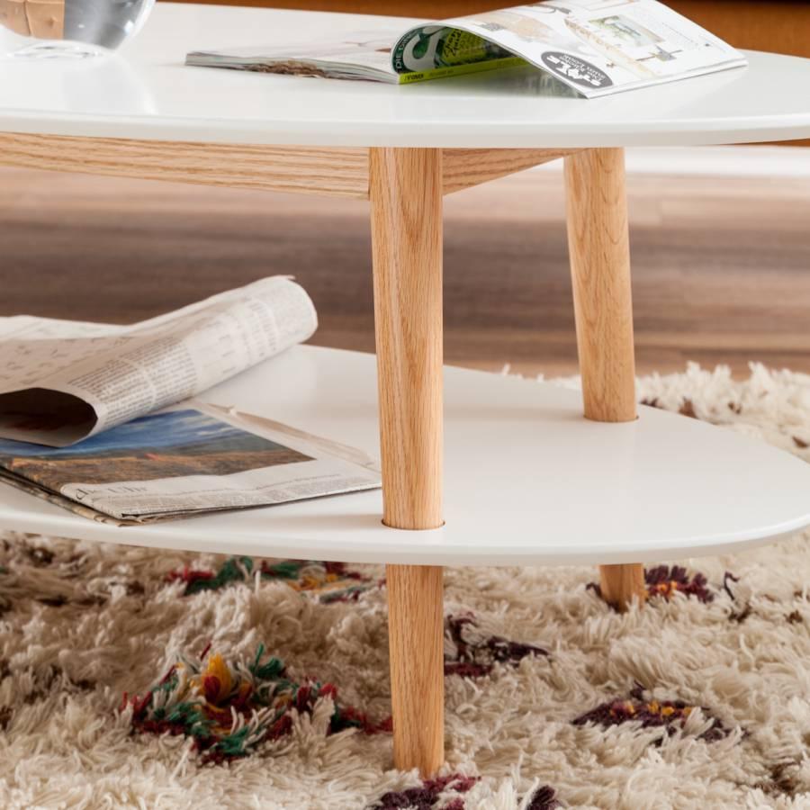 Table En MassifBlanc Basse Lindholm Partiellement Chêne oeCWEQxrdB