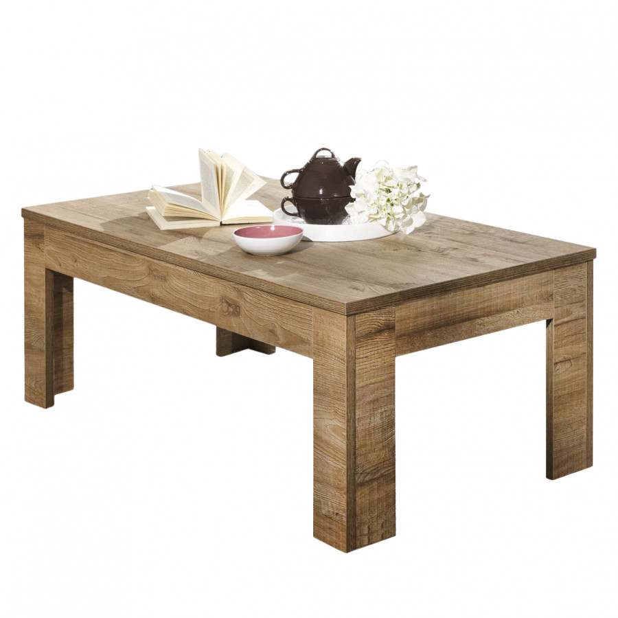Table Basse Milano Lc Imitation Chene Fonce Home24 Fr