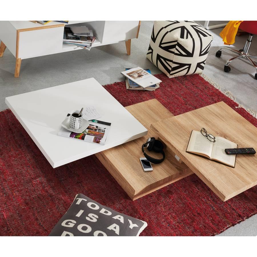 Chêne Orsa Imitation De Basse SonomaBlanc Table 8kOnX0wP