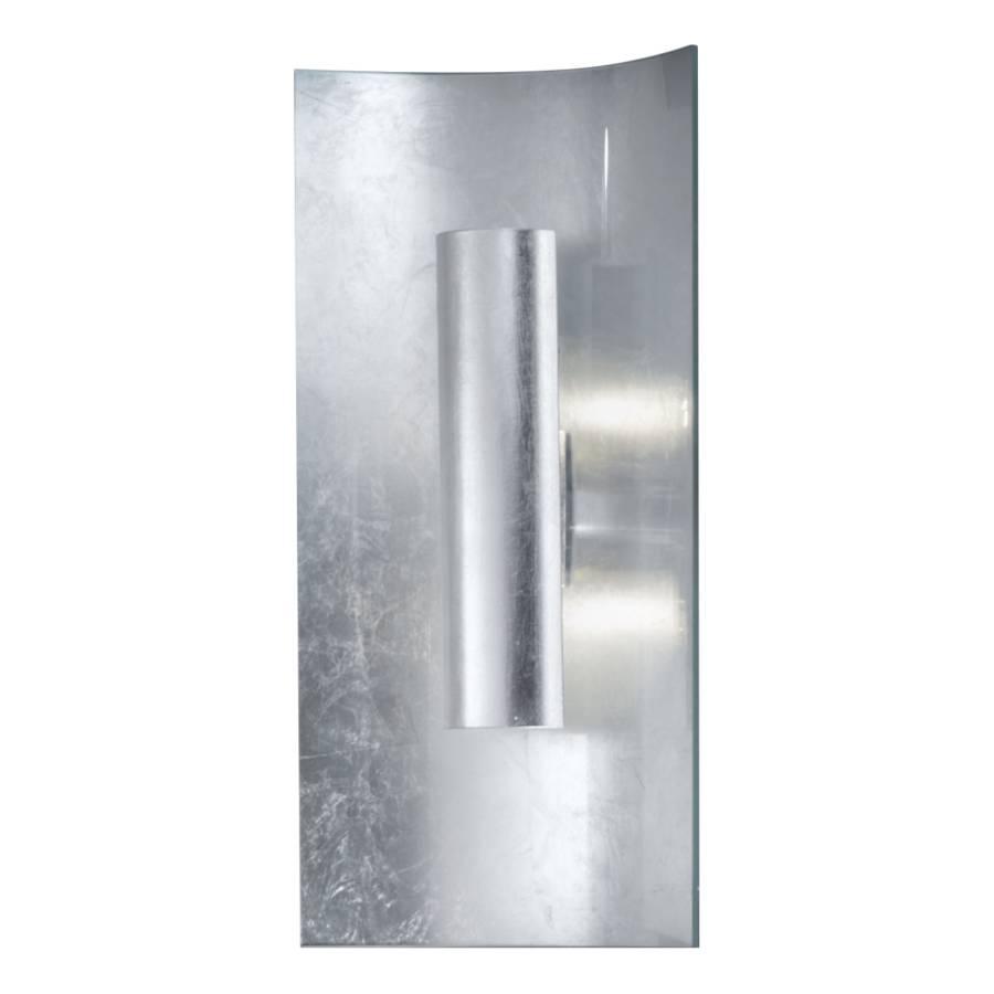 45 flammig MetallGlas2 Wandleuchte Silber Aura Cm 5Aj4RL3