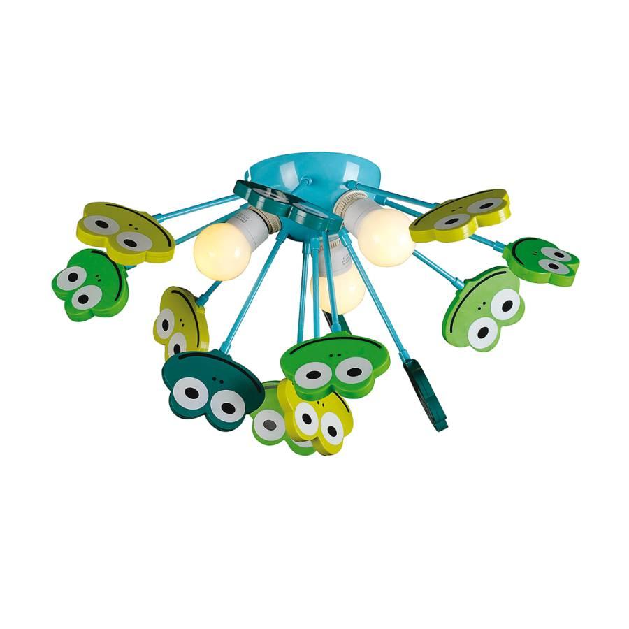 MétalMatériau Synthétique Frog Multicolore Plafonnier 3 Ampoules shrdtCQ