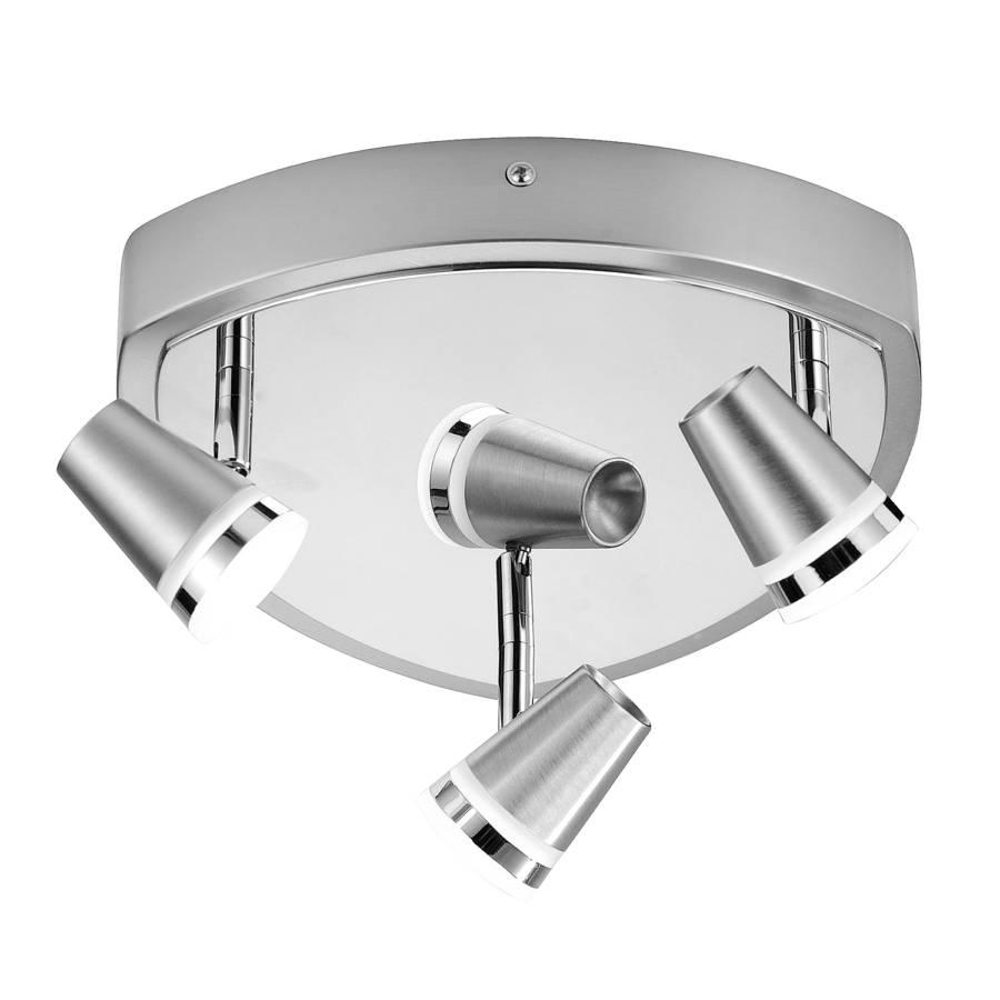 Ampoules Fer Ring Argenté 3 Plafonnier NkZ8OX0Pnw
