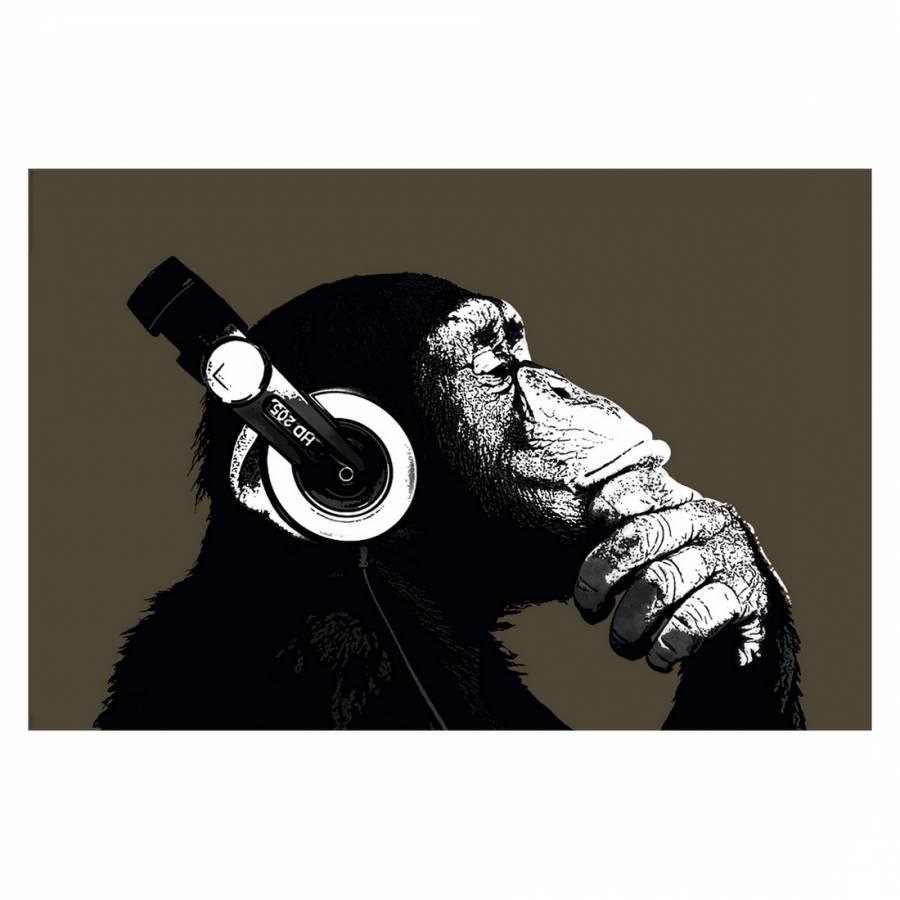 Mit Kopfhörer Kopfhörer Mit Schimpanse Bild Schimpanse Schimpanse Bild Mit Bild 80vmNnOw