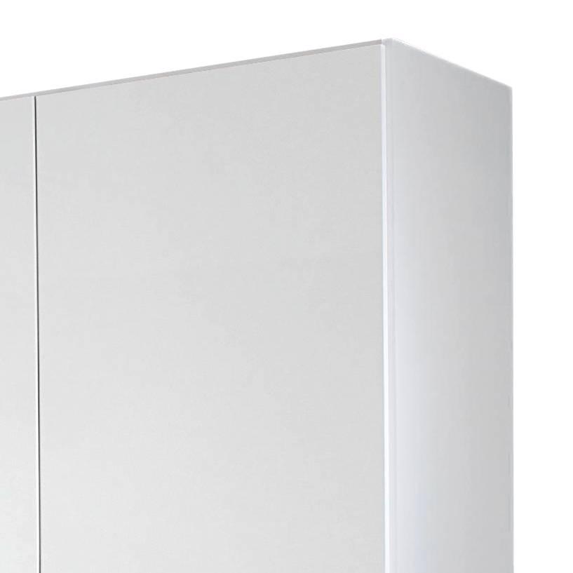 Drehtürenschrank AlpinweißHochglanz Weiß181 türig Cm Lorca 4 mnNOv08w