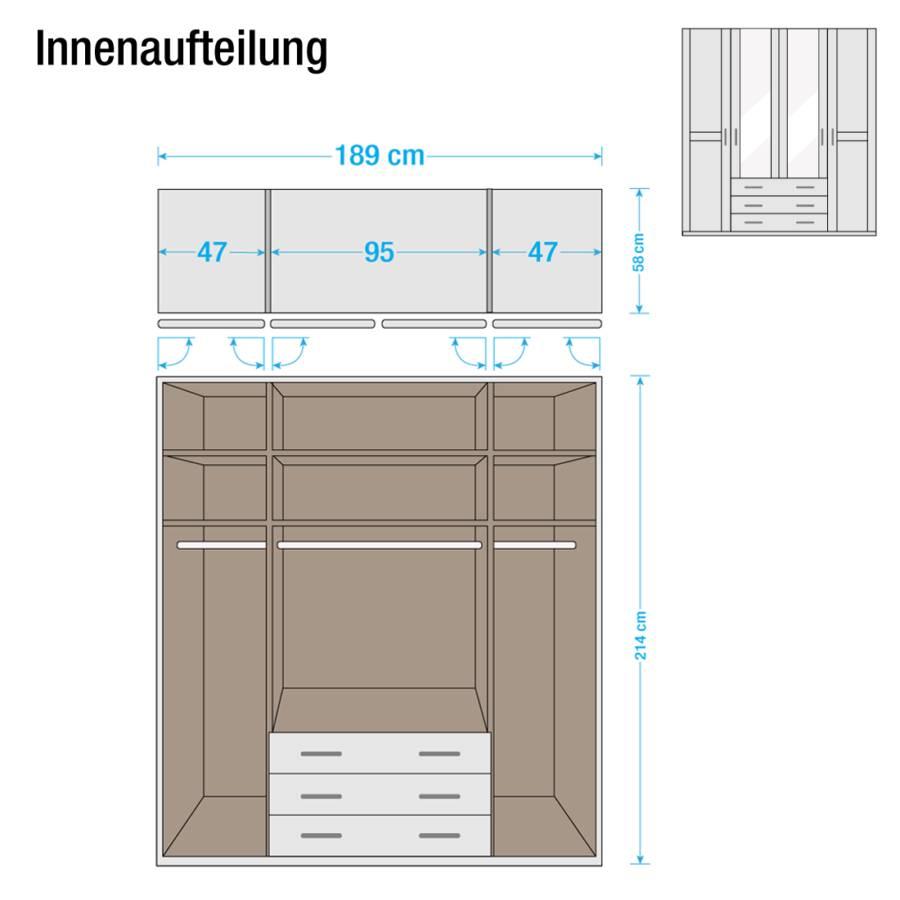 Jetzt bei Home24: Drehtürenschrank von Rauch Steffen | home24