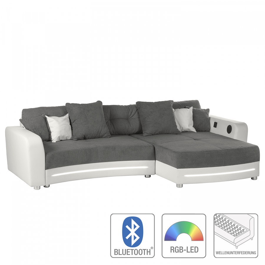 couch mit boxen und led trendy sofas jade stoff violett bxhxt cm leinerat with couch mit boxen. Black Bedroom Furniture Sets. Home Design Ideas