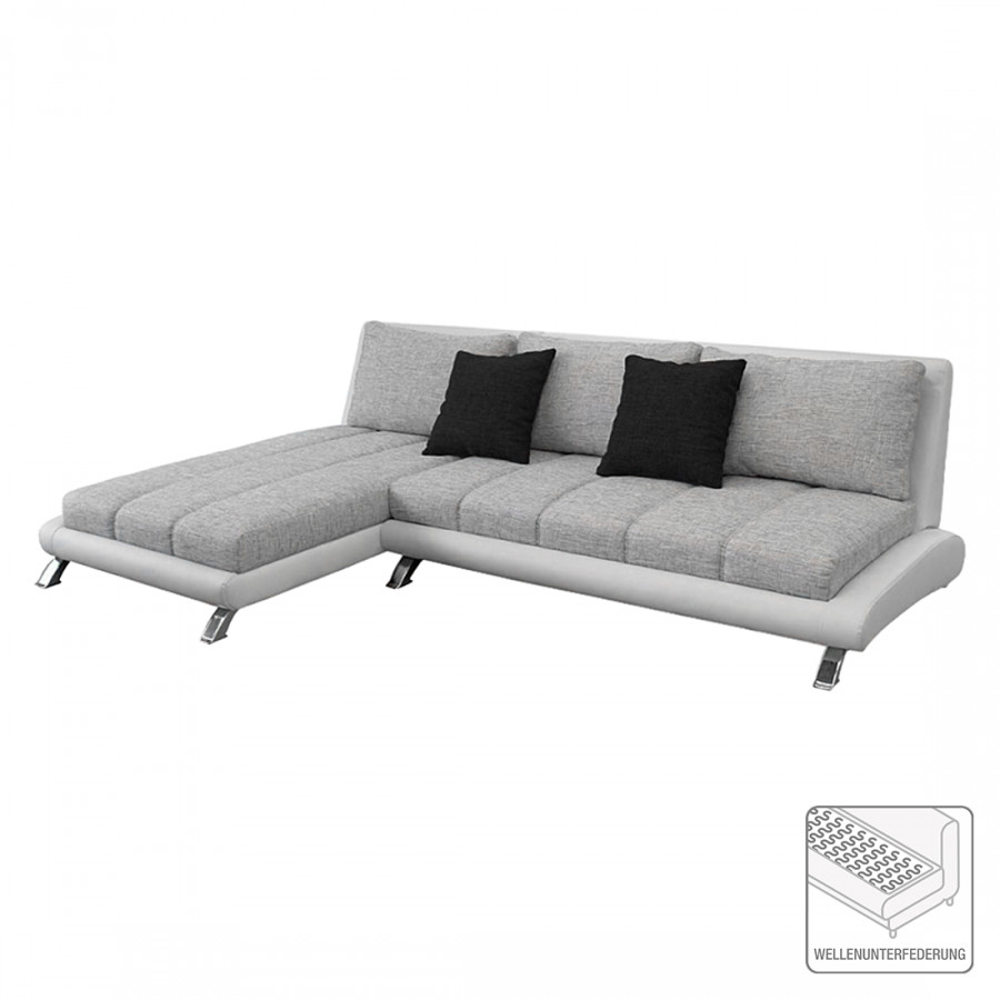 ecksofa stoff grau eckcouch beige ecksofa dallas grau links breiter fuss aedeb leder stoff with. Black Bedroom Furniture Sets. Home Design Ideas