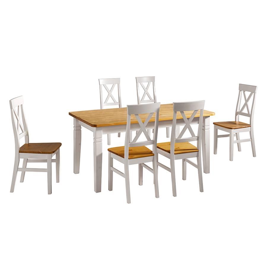 Cm Table X BlancLessivé120 78 Ii À Manger Bergen clK1JF