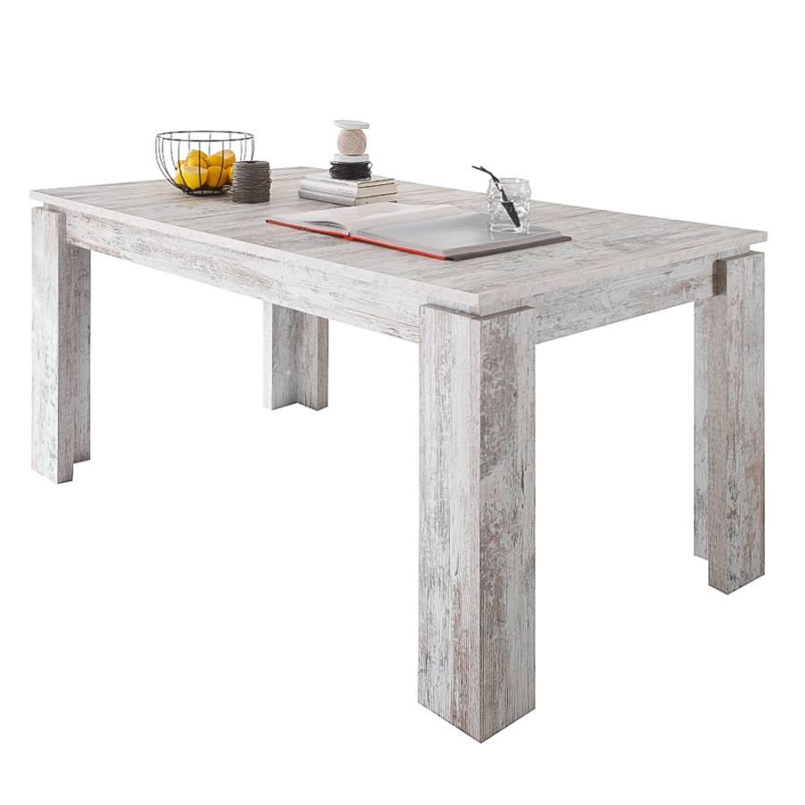 Grenenhouten Side Table.Eettafel Rover Met Uitschuiffunctie