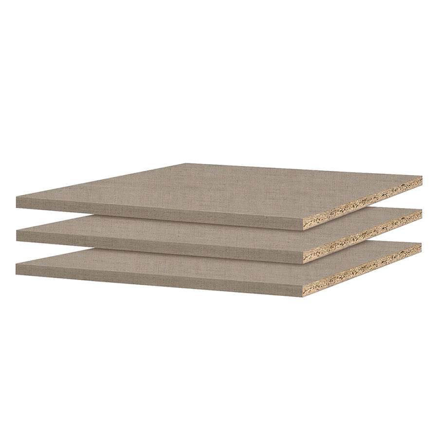 inlegplanken quadra 3 delige set geschikt voor kastelementen met een breedte van