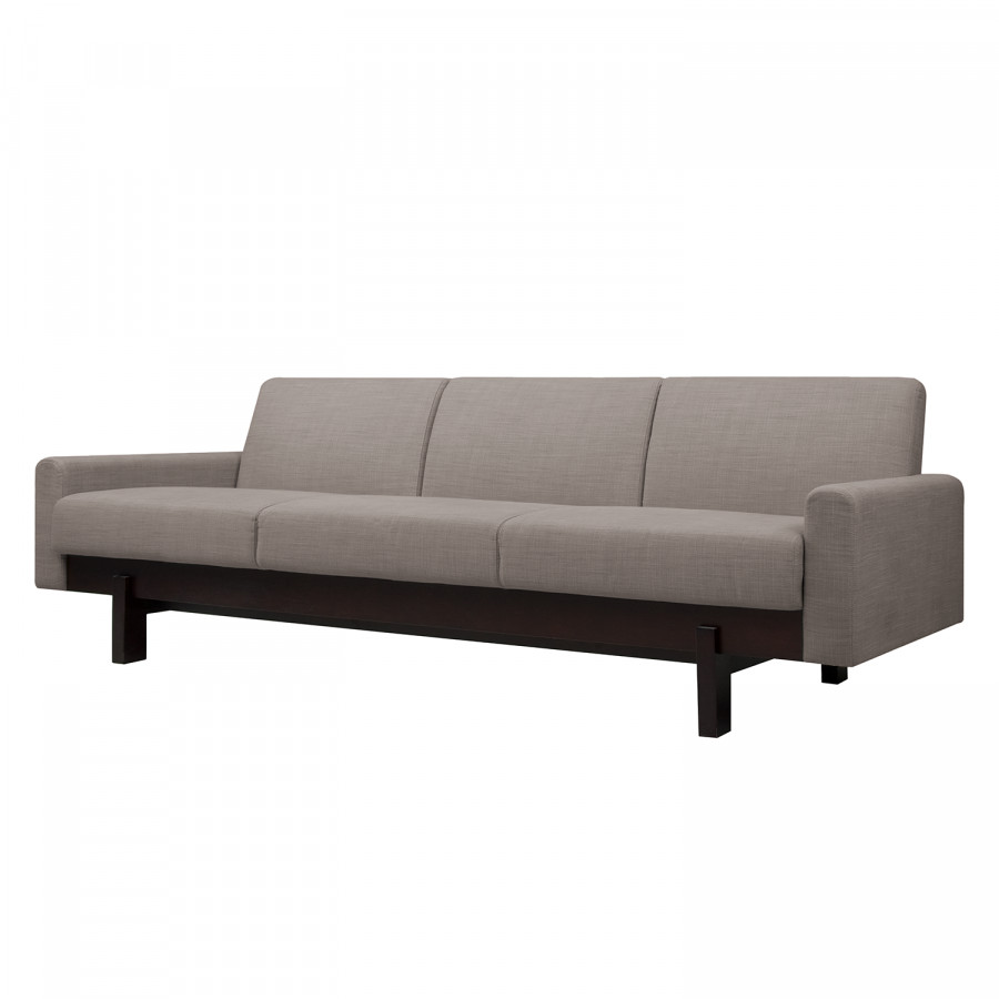 Sofa Paddington (3 Sitzer) Webstoff   Stoff Frea Grau Braun III