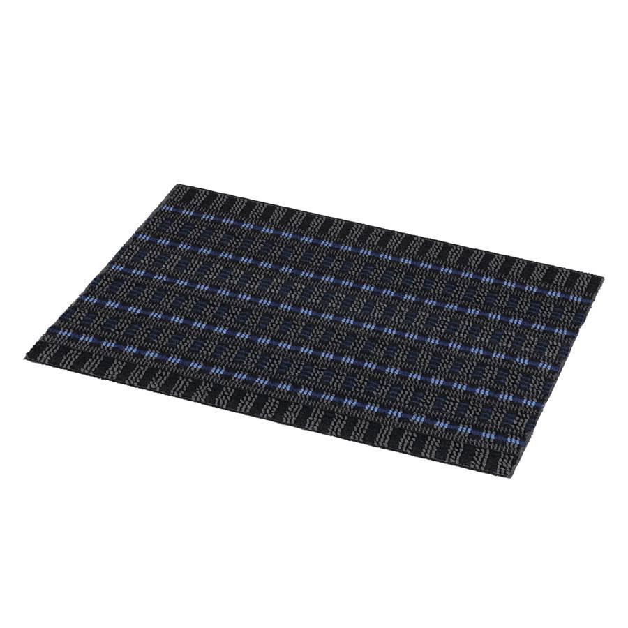 Blau Fußmatte Poly Poly Fußmatte Brush n80kOPw