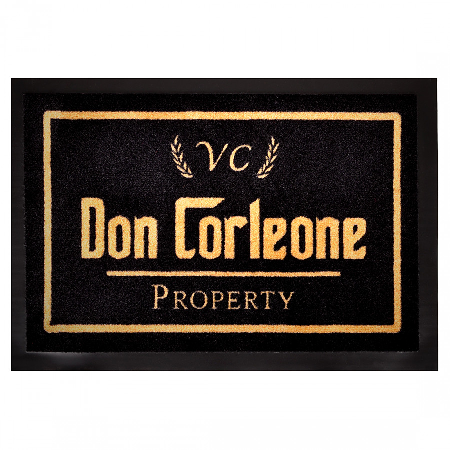 Corleone NoirDoré Paillasson Don Printy QdECBorxeW
