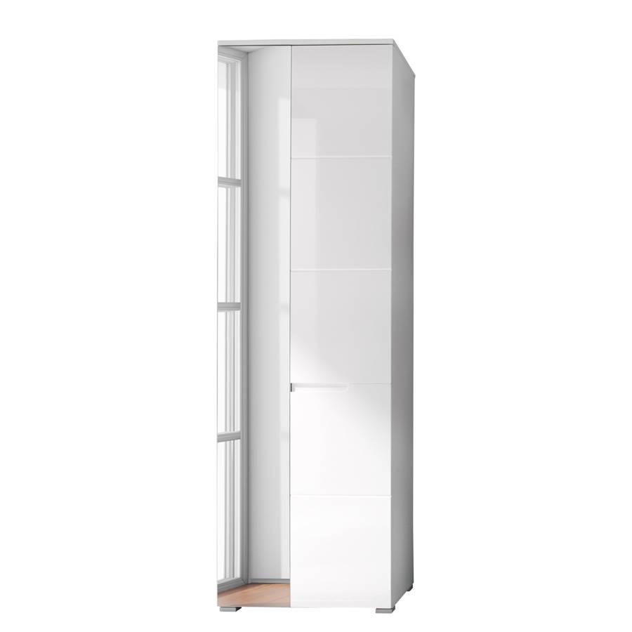 Genial Garderobenschrank Weiß Referenz Von Larado - Hochglanz Weiß / Weiß
