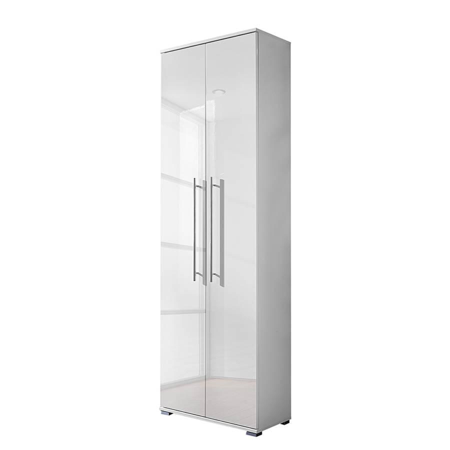 Ansprechend Garderobenschrank Weiß Das Beste Von Linear - Hochglanz Weiß