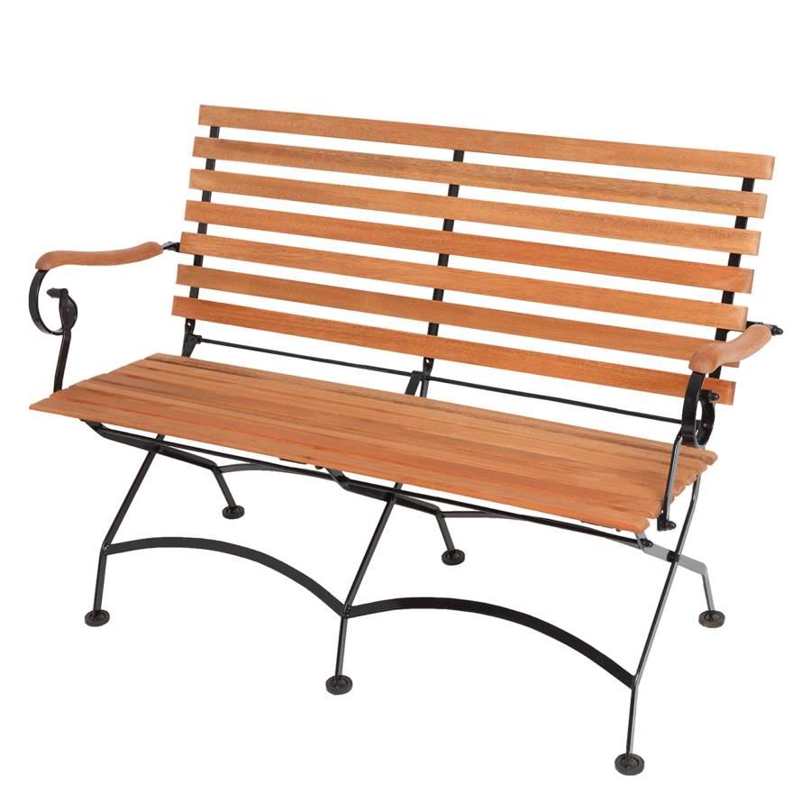 Affordable Gartenbank Sitzer Eukalyptus Massiv Braun Gartenbank With  Gartenbank