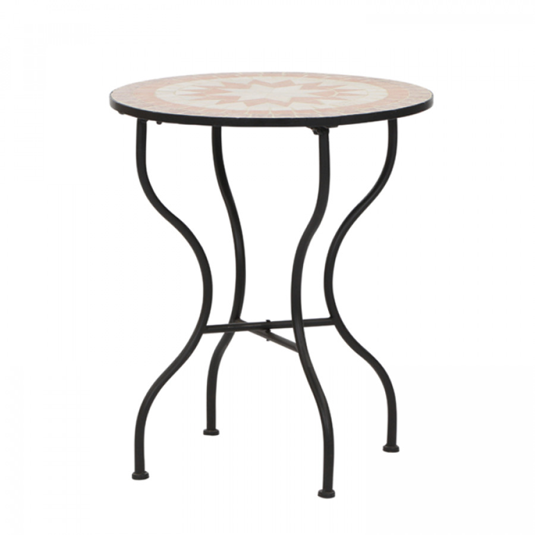 Gartentisch Finca Eisen Keramik Home24