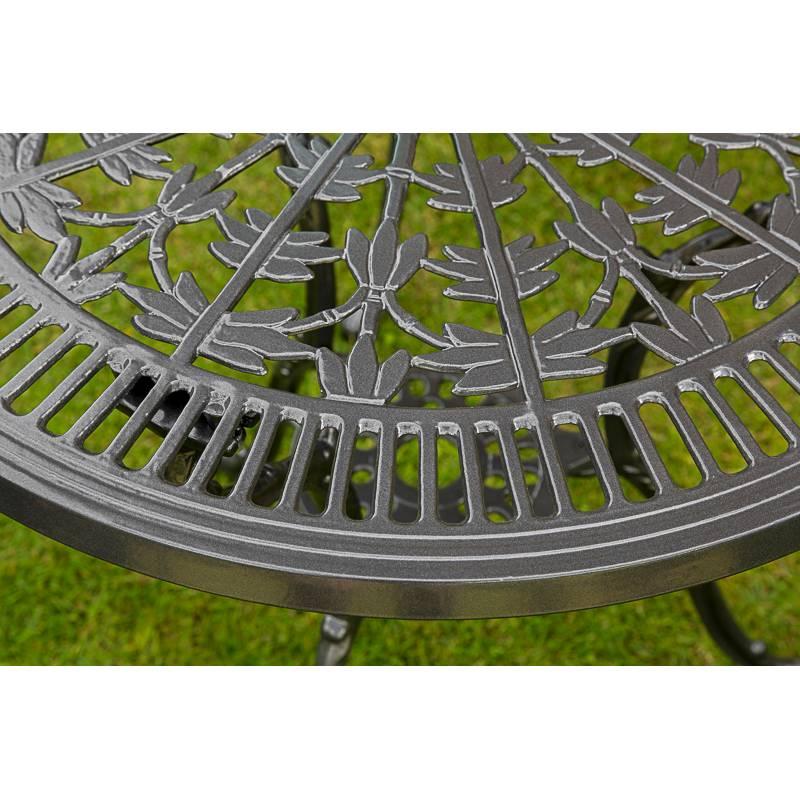 De Table Aluminium Coulé Jardin Lugano vn8OPym0Nw
