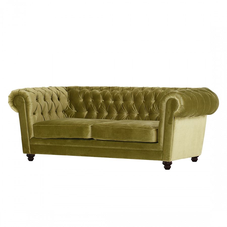 Sofa Samt Grün furnlab chesterfield sofa für ein klassisch modernes zuhause home24