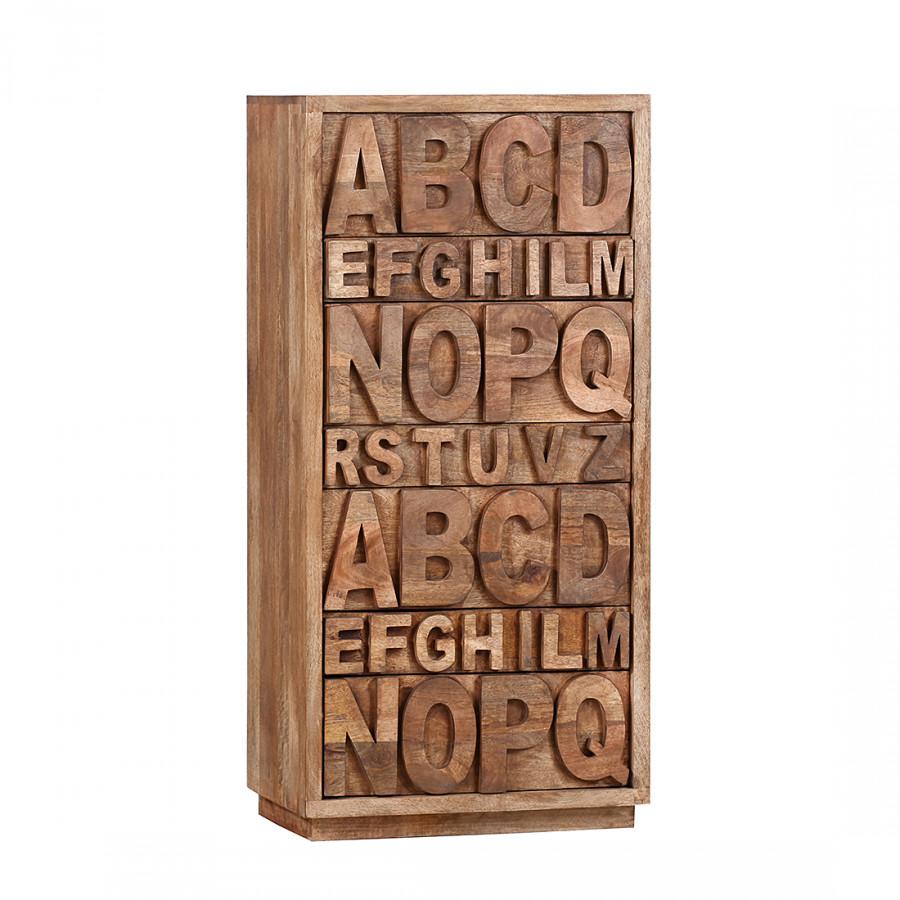 Hochkommode Letters Letters Mango Massiv Hochkommode Ii N08wkXZOnP