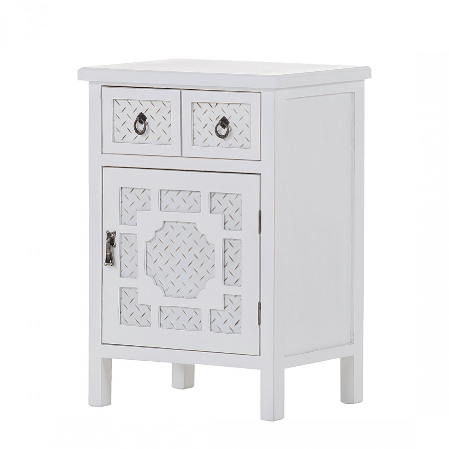 Commode Partiellement Vintage Dothan Sapin Massif Blanc thQrds
