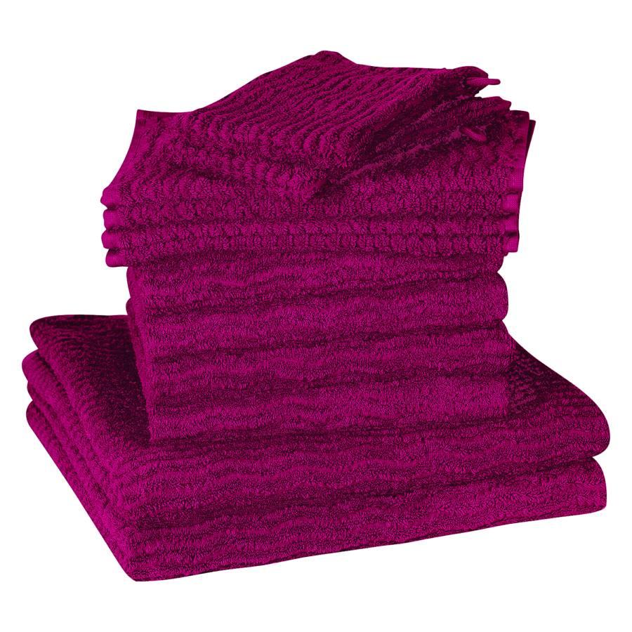 teiligFuchsia Wave12 Wave12 teiligFuchsia Handtuchset Handtuchset Wave12 teiligFuchsia Handtuchset xCoerdB