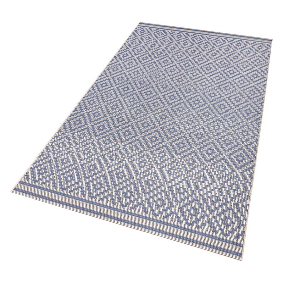 X Cm Raute WeißDunkelblau160 teppich 230 Inoutdoor hxtrBCsdQ