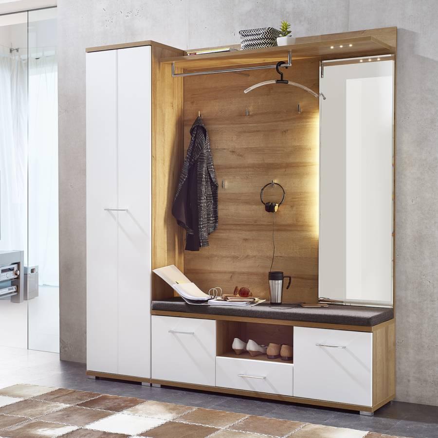 Blanc Vestibule De Armoire Arcola Mat UzqpSMV