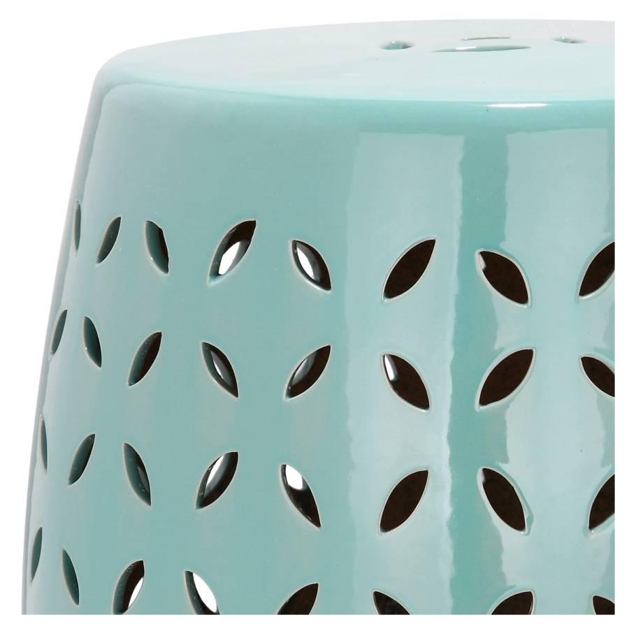 Blue Egg Blütenblatt Glasiert Robbins Keramikhocker dCxthrsQ
