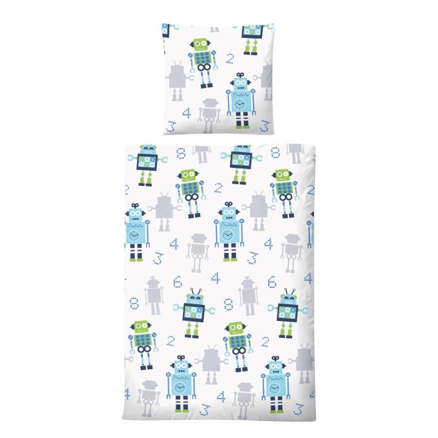 100 60 Kinderbettwäsche CmKissen 135 Robots X 40 wm08vnNO