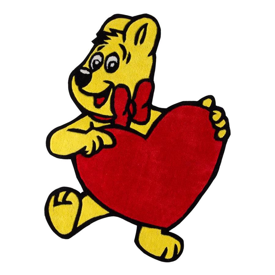 Mit Goldbär Herz Kinderteppich Kinderteppich Goldbär Kinderteppich Mit Kinderteppich Goldbär Herz Herz Mit kXOPZui
