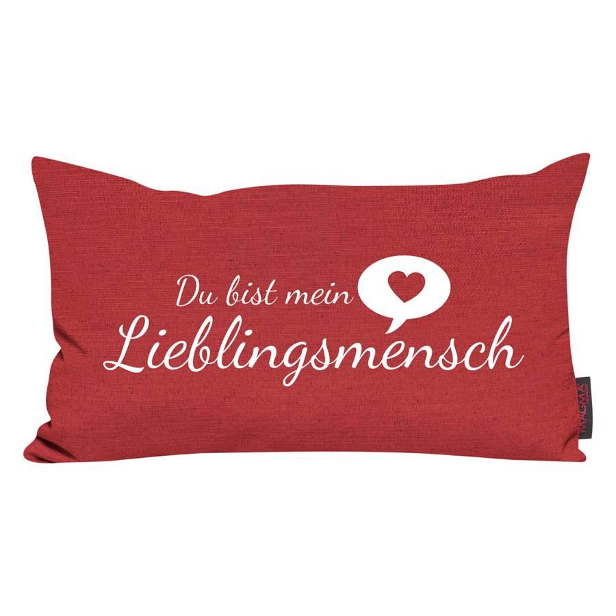 Rot Lieblingsmensch Lieblingsmensch Rot Kissen Kissen Kissen Lieblingsmensch Rot KT1lJcF3