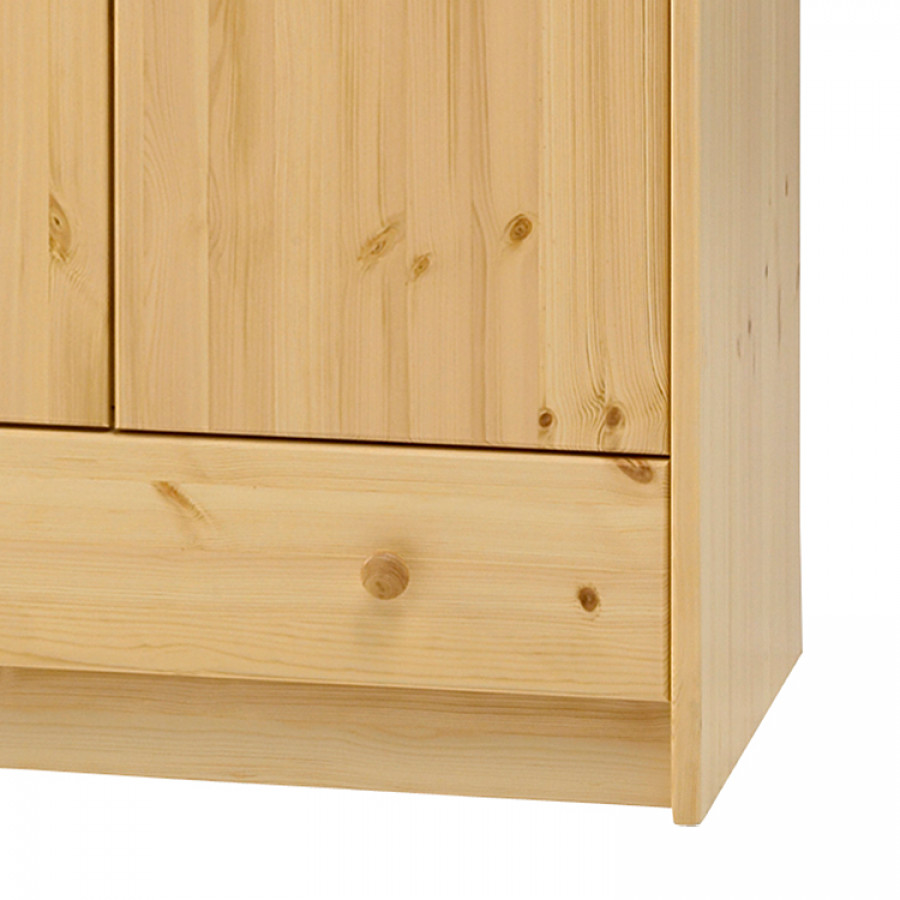 À Armoire MassifVernis Naturel For Kids Steens Pin Vêtements Nk8nXwP0O