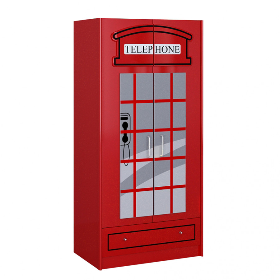 London Rot London Rot Kleiderschrank Kleiderschrank Kleiderschrank MUSpqGzV