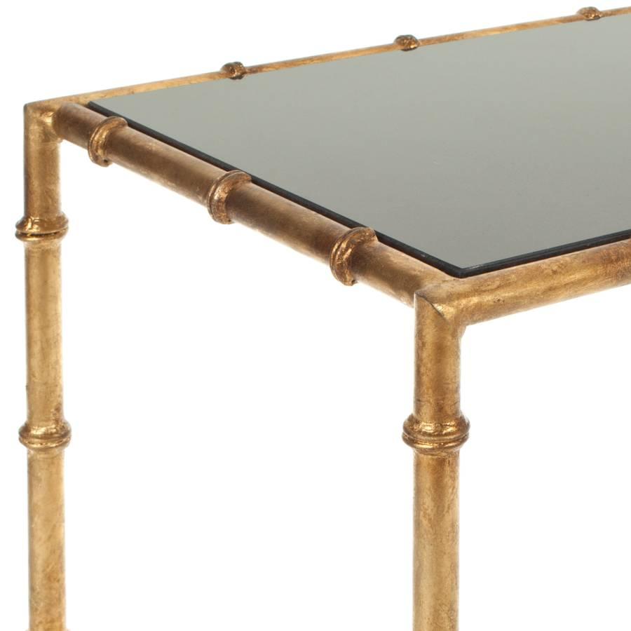 SpiegelglasEisenSchwarz Konsolentisch Konsolentisch Lestene Lestene Konsolentisch Gold Gold Lestene SpiegelglasEisenSchwarz qLSUzMpGV