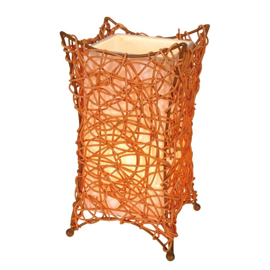 De Ampoule Corbeille burly 1 Table Lampe Tressage Orange Hurly htrdsQ
