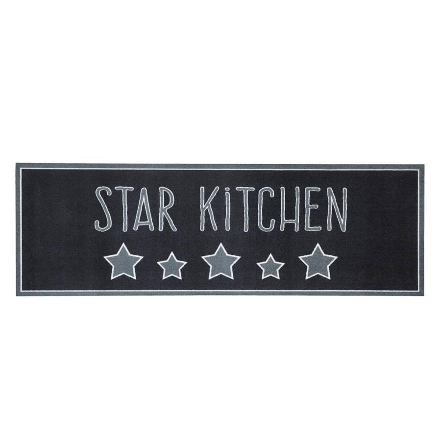 Star Kitchen Küchenläufer Küchenläufer KunstfaserGrauSchwarz Star QCxrBedoW