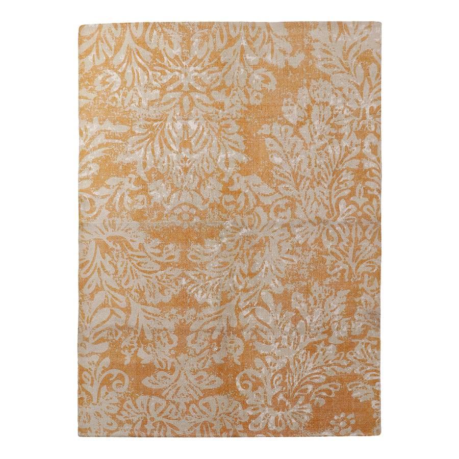 9859c02d68dde4 Vintage-Teppich Chaniers - Baumwollstoff - Gelb / Creme