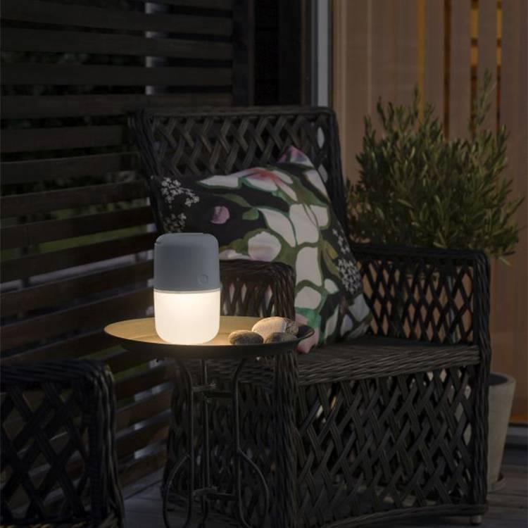 WeißHellgrau Solarleuchte I Solarleuchte Assisi Assisi Petite Ow8n0XPk